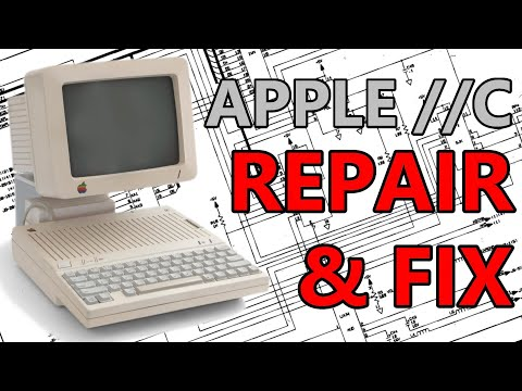 Troubleshooting And Fixing A Dead Apple IIc
