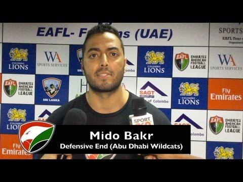 EAFL Falcons vs Colombo Lions (press conference)