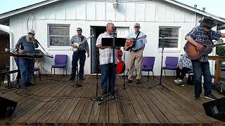 Sunday Eve Outdoor Bluegrass Gospel Singing