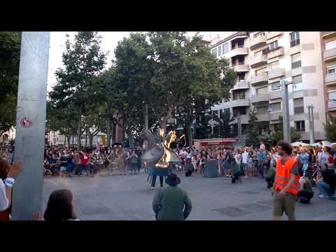 Ball del drac de Granollers dins les Festes de Granollers (26-08-2014)