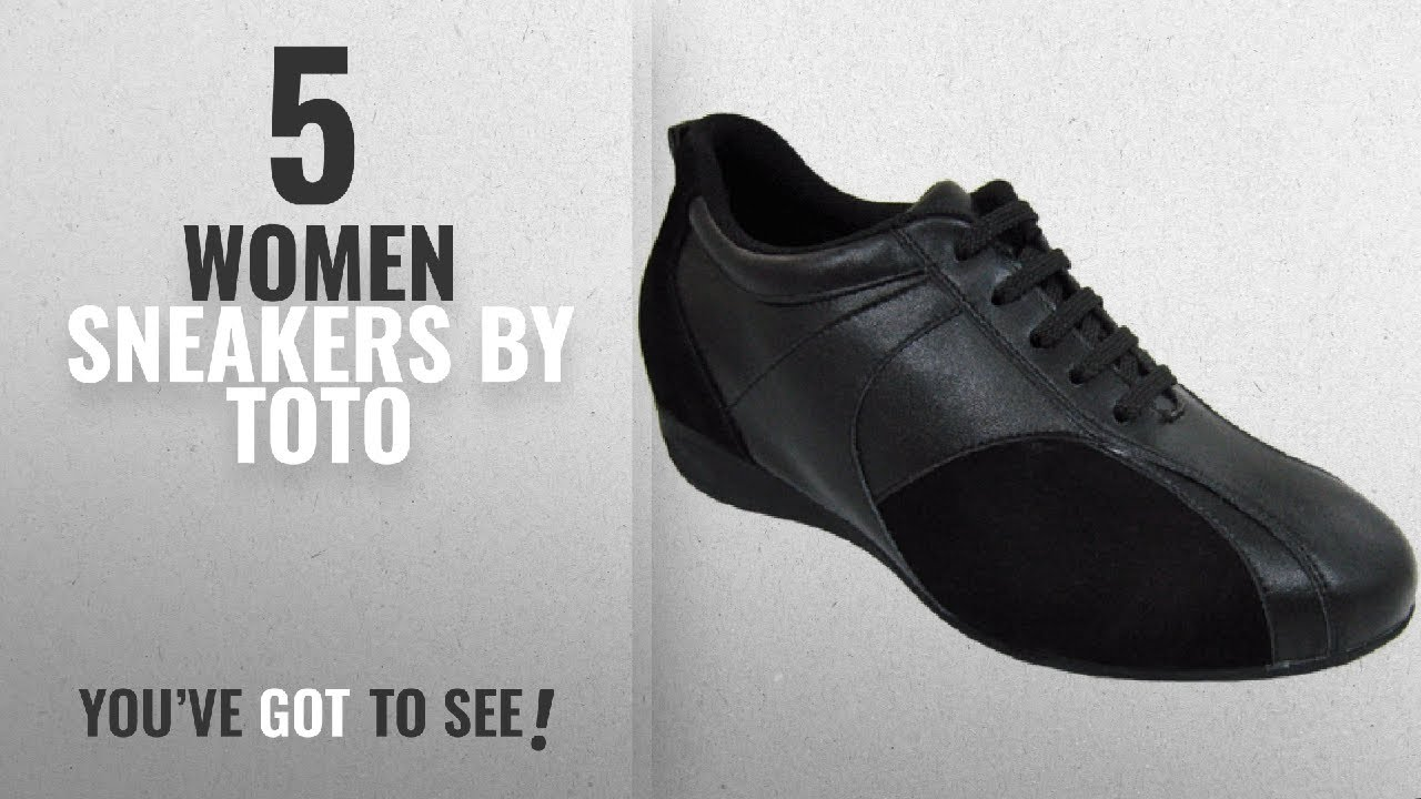 Featured Toto Women Sneakers [2018]: TOTO - W1611 - 2.6 Inches ...