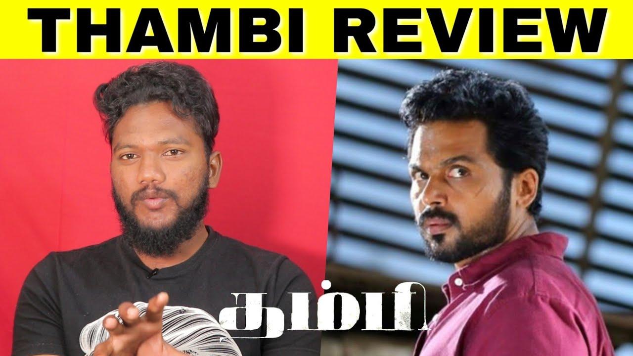 THAMBI MOVIE REVIEW   Karthi, Jyothika, Sathyaraj   Thambi ...