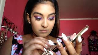 NYX Purple Glitter Party Makeup Tutorial Thumbnail