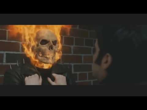 Клип Призрачный Гонщик под песню (Skillet-Monster) 2 часть