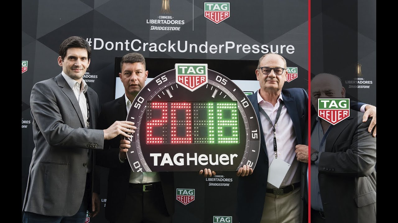 TAG Heuer | TAG HEUER IS OFFICIAL TIMEKEEPER OF THE COPA CONMEBOL ...