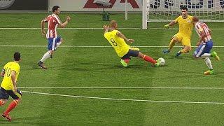 Colombia vs Paraguay (Copa Mundial Rusia 2018 de FIFA, Eliminatorias) | FIFA 17 Simulacion