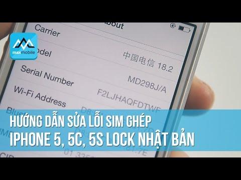 Cách ghép sim iphone 5 hiệu quả nhất
