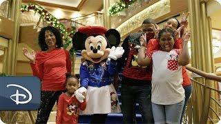 The Thompson Family Aboard Disney Cruise Line