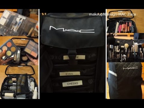 MAC Zuca Bag: Updated: How I Pack For My Freelance Makeup Gigs