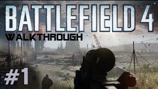 Battlefield 4 Gameplay Walkthrough Part 1 Campaign Mission 1 BAKU - BF4 Story Xbox360