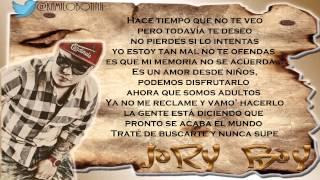 Amor De Antes (Remix) (Letra) - Plan B Ft Amaro, Ñengo Flow & Jory
