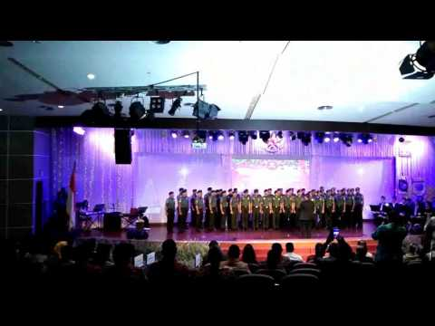 Paduan Suara Kostrad - Muliakanlah Yang Maha Tinggi
