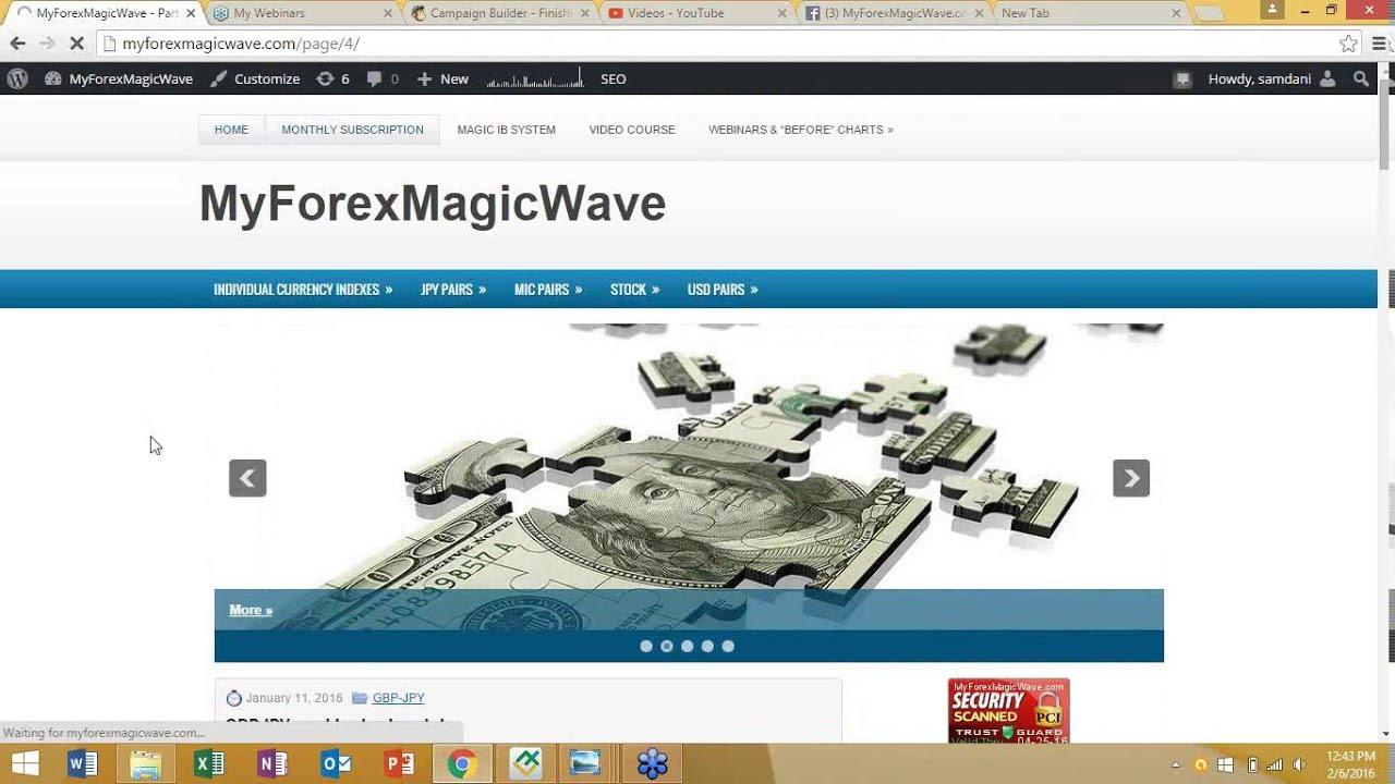 Forex subscription
