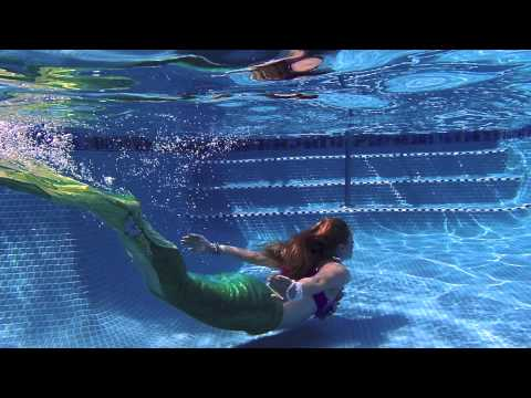 fire pixie entertainment swimming mermaid in the pool and the ocean youtube