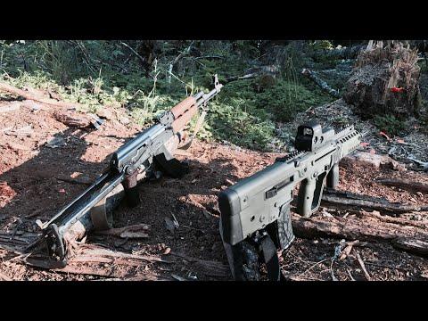 AK47 Vs Tavor X95