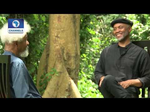 Authors Conversation: Ndibe Chats Nobel Laureate Wole Soyinka Pt.1  Channels Bookclub 