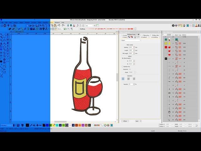 Plan your design (Wine Bottle)