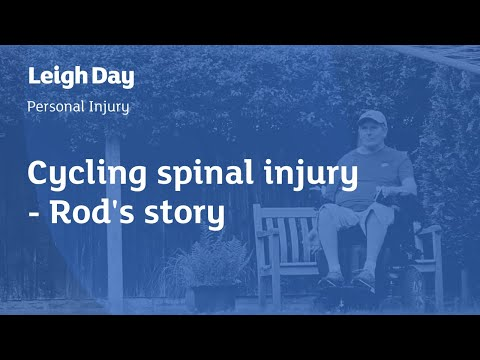 Cycling spinal injury Rod's story | Leigh Day Personal Injury