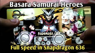 Basara Samurai Heroes Full Speed in Android + Tutorial install in Android