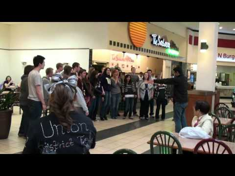 2011_02_18 UHS Chamber Choir Flash Mob in Federal Way
