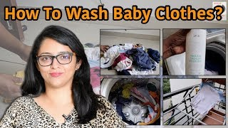 HOW TO WASH BABY CLOTHES? || Natural Laundry Detergent We Use