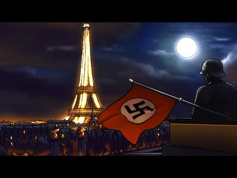 Life in German-Occupied France   Animated History