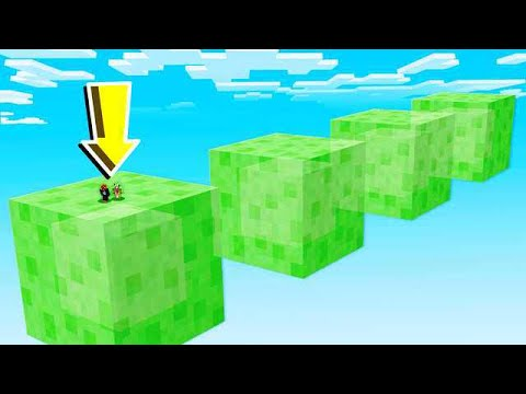 GIANT SLIME vs PRESTONPLAYZ AND UNSPEAKABLE! (MCPE)