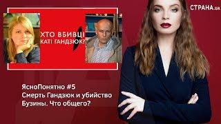 Смерть Гандзюк и убийство Бузины. Что общего? | ЯсноПонятно #5 by Олеся Медведева