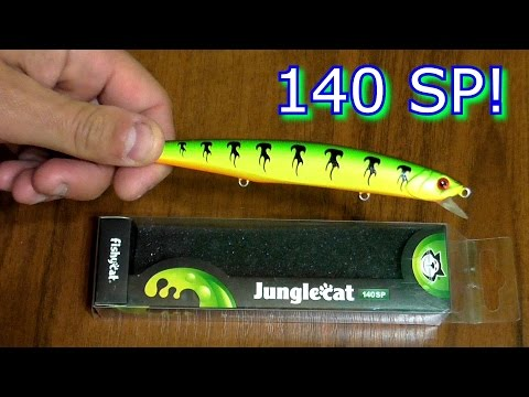 FISHYCAT JUNGLECAT 140SP - воблер летун!!!