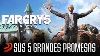 Far Cry 5 y sus 5 Grandes Promesas para arrasar