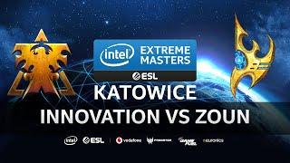 Innovation vs Zoun [TvP] IEM Katowice 2020 Qualifiers - Starcraft 2
