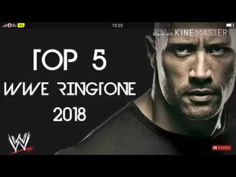Top 5 ringtone of wwe