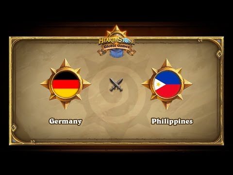 Germany vs Philippines, Hearthstone Global Games Group Stage