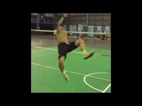 Pattarapong Yupadee Rolling spike on Training !