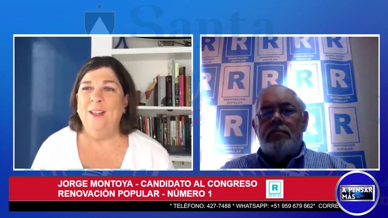 Entrevista al Almirante Jorge Montoya