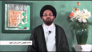 The Sings Of Reappearance Of The IMAM MAHDI AJTF Part 4 By Allama Syed Shahryar Raza Abidi