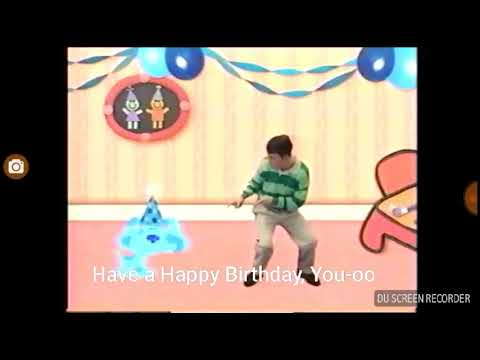 Blue's Clues Birthday Song (with Lyrics)