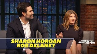 Sharon Horgan and Rob Delaney's Writing Partnership Started Out Awkwardly