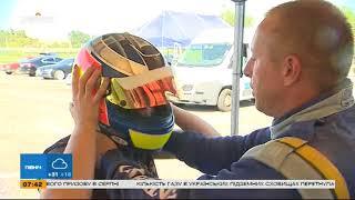 На спорткаре с гонщиком-чемпионом Игорем Скузом - Интер - детям