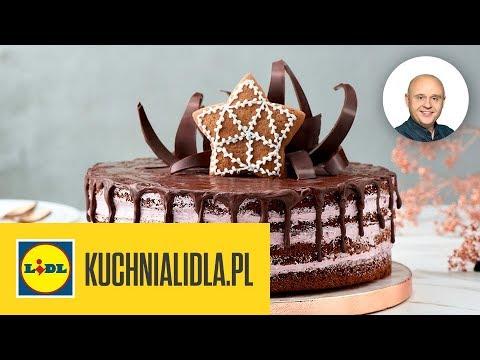 świąteczny Tort Piernikowy Paweł Małecki Kuchnia Lidla