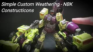WEATHERING Simple Tips - NBK Constructicons