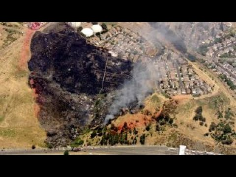 Scorching temperatures fueling wildfires in Utah, California