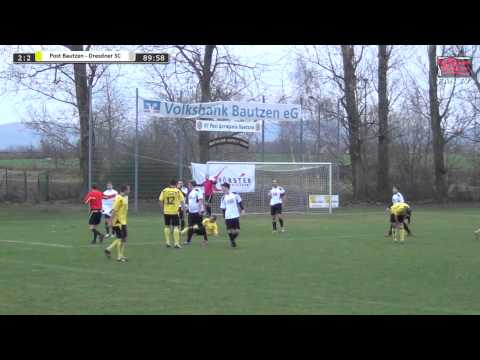 Tor: SV Post Germania Bautzen 3:2 Dresdner SC 1898