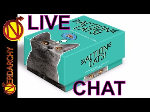 Nerdarchy Live Chat #73-  Keith Baker & Action Cats! From Twogether Studios KickStarter
