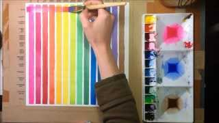Gambar cover Watercolor Painting Lessons - Glazes