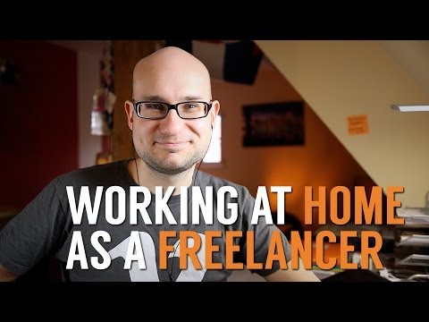 The challenges of working at home as a freelancer