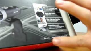 Microsoft Lifecam Cinema WebCam Unboxing Linus Tech Tips