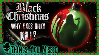 19 Things You Missed In Black Christmas (1974) | Analysis of Billy