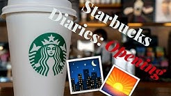 The Starbucks Diaries: The Opening Shift!