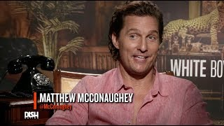 ALRIGHT, ALRIGHT, ALRIGHT! MATTHEW MCCONAUGHEY DISHES ON 'WHITE BOY RICK'
